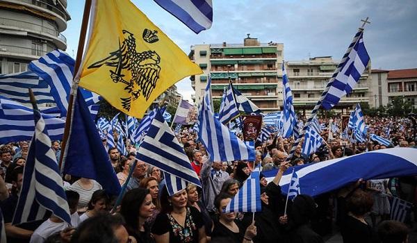 Χιλιάδες πολίτες στα συλλαλητήρια για τη Μακεδονία