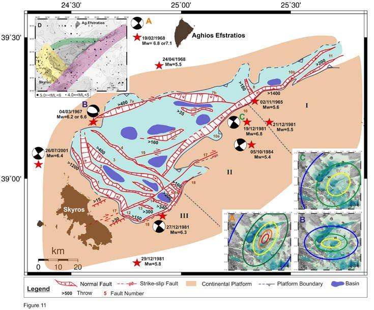 Έλληνες επιστήμονες: Σεισμούς μέχρι και 7,4 ρίχτερ μπορούν να δώσουν τα 19 ενεργά ρήγματα στο Αιγαίο