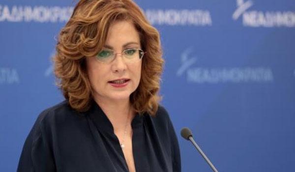 Σπυράκη: Συμπεριφορές σαν του Μπογδάνου είναι ξένες στη ΝΔ. Δεν θα είναι υποψήφιος