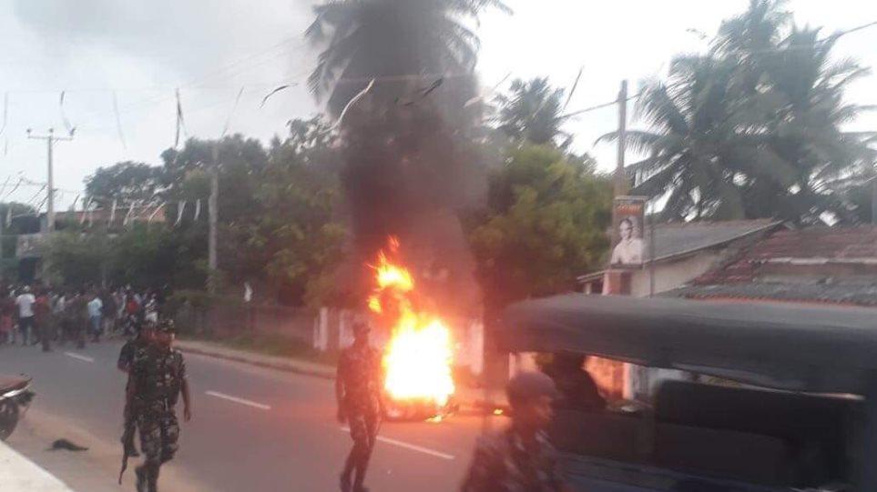 Βίντεο ντοκουμέντο από τη στιγμή της έκρηξης σε εκκλησία στη Σρι Λάνκα