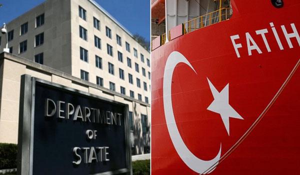Ανησυχία Στέιτ Ντιπάρτμεντ για την προκλητικότητα της Τουρκίας