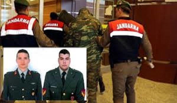 O πρόεδρος της Βουλής επισκέφτηκε τους δύο Ελληνες στρατιωτικούς
