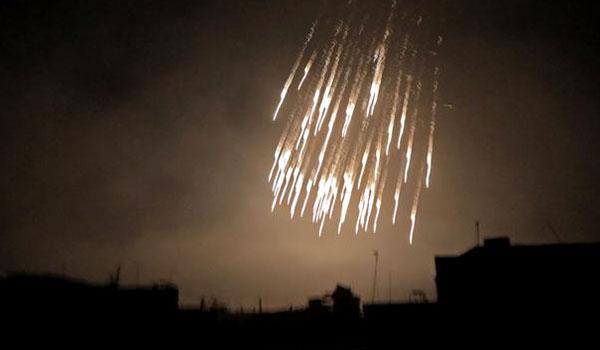 Συρία: Τουλάχιστον 12 πύραυλοι αναχαιτίστηκαν σε Χομς και Δαμασκό