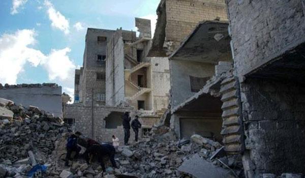 Συρία: Τουλάχιστον 19 νεκροί από έκρηξη που ισοπέδωσε κτίρια στο Ιντλίμπ