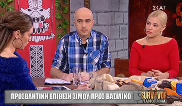 """Έξαλλη η Μπάγια Αντωνοπούλου με την """"αλήτικη"""" συμπεριφορά παίκτη του Survivor"""