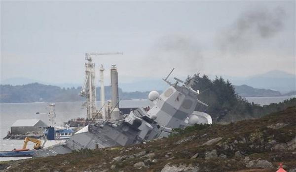 Σύγκρουση ελληνόκτητου τάνκερ με νορβηγική φρεγάτα – Τι απαντά η εταιρεία