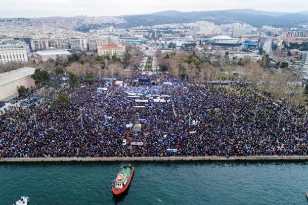 Κατρούγκαλος: Ήταν σκιά του '92 το συλλαλητήριο. Κουμουτσάκος: Δεν ακούτε την ψυχή του Έλληνα