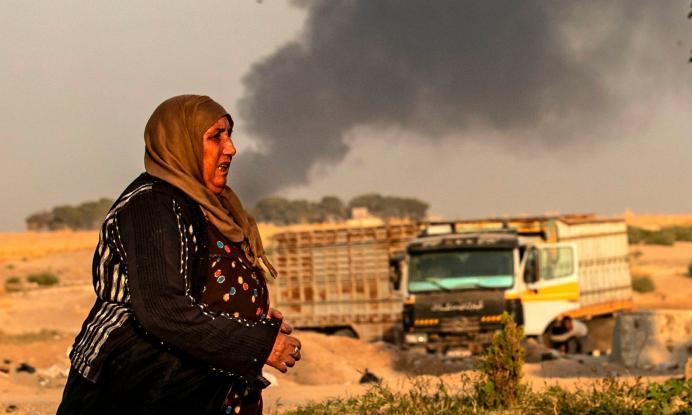 Τουρκική εισβολή στη Συρία. Βομβαρδισμοί, αποχή Ρωσίας, ΗΠΑ και διεθνείς αντιδράσεις