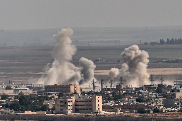 Το ανατριχιαστικό πρωτοσέλιδο της Libération για τη στρατιωτική επιχείρηση στη Συρία