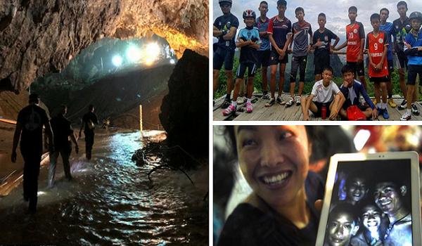 Ταϊλάνδη: Οι 12 μικροί ήρωες τα κατάφεραν και βγήκαν σώοι από τη σπηλιά