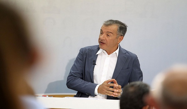 Θεοδωράκης από τη ΔΕΘ: Το Ποτάμι θα κατέβει αυτόνομο στις επόμενες εκλογές