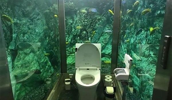 Αυτή είναι με διαφορά η πιο παράξενη τουαλέτα που έχετε δει