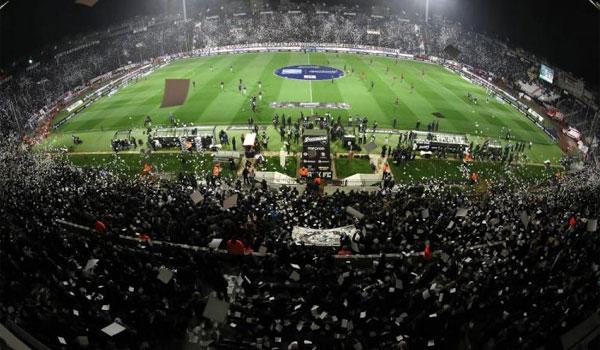 ΠΑΟΚ - Ολυμπιακός: Έφοδος της Αστυνομίας στην Τούμπα - Τι βρέθηκε στο γήπεδο
