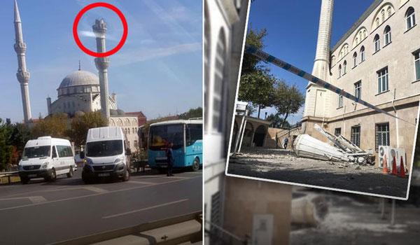 Ισχυρός σεισμός στην Κωνσταντινούπολη. Πανικόβλητοι οι κάτοικοι - Κατέρρευσε μιναρές