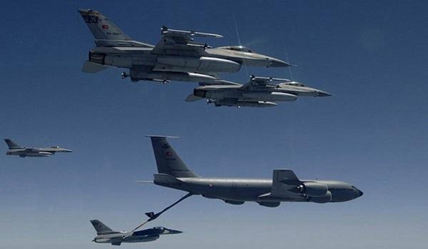 Μετά τα drones και τουρκικά F-16 στα Κατεχόμενα