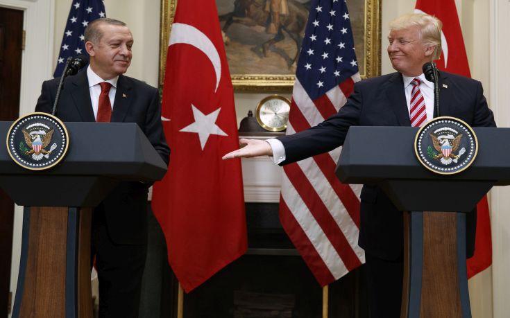 Τραμπ: Πολύ καλή η σχέση μου με τον Ερντογάν