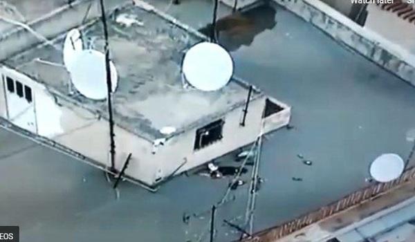 Το drone της ΕΛ.ΑΣ. πρόδωσε τους νεαρούς σε ταράτσα  πολυκατοικίας στα Εξάρχεια