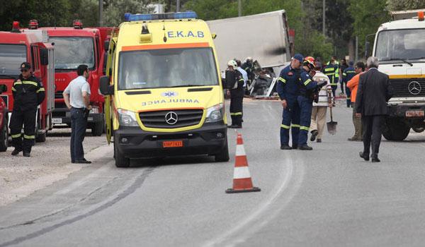 Εντοπίστηκε ο οδηγός που προκάλεσε το δυστύχημα με βυτιοφόρο στο Κορωπί