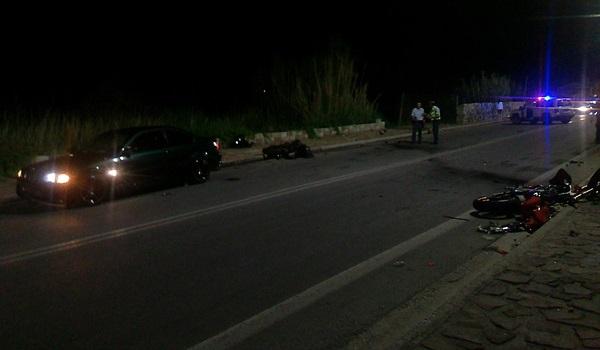 Τραγωδία στη Λέσβο:Τροχαίο  με 3 νεκρούς - μεταξύ αυτών μια 16χρονη