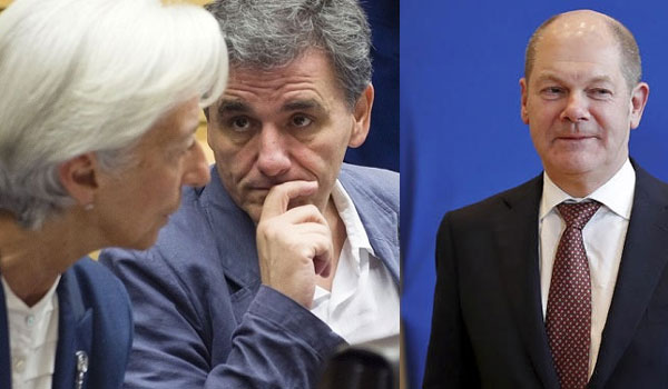 Αμετακίνητοι ΔΝΤ και Βερολίνο. Επιμένουν στην περικοπή των συντάξεων