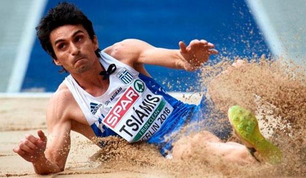 Και άλλο μετάλλιο για την Ελλάδα: Χάλκινος ο Τσιάμης στο τριπλούν
