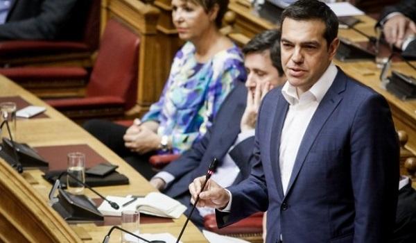 Τσίπρας: Ο Σαμαράς προκάλεσε το Σκοπιανό - Θέτει σε ομηρία κι έναν άλλο Μητσοτάκη