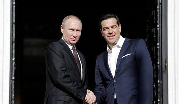 Πούτιν: Μας ενώνουν πολλές προοπτικές – Τσίπρας: Δεν είναι πάντα εύκολος ο διάλογος
