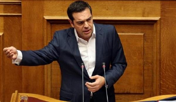 """Τσίπρας: Η κυβέρνηση τηρεί επιεική στάση στα εγκλήματα του """"λευκού κολάρου"""""""