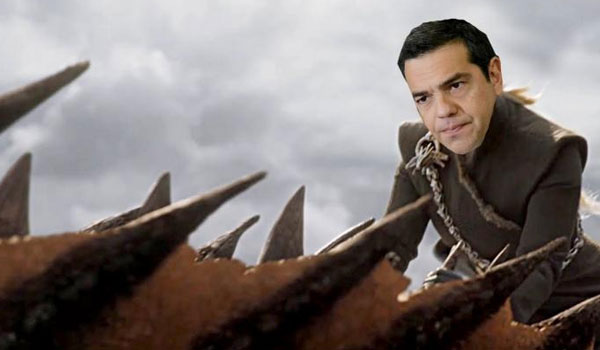 """Η ΚΝΕ τρολάρει τον Τσίπρα με Game Of Thrones: Spoiler alert, όπως """"Καλίσι..."""