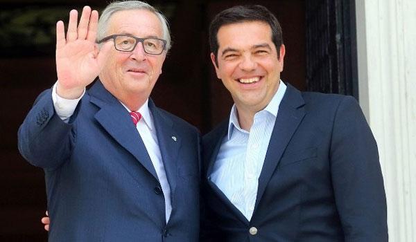 Γιούνκερ: Αστειότητες τα περί συναλλαγής με Τσίπρα για τη Συμφωνία των Πρεσπών