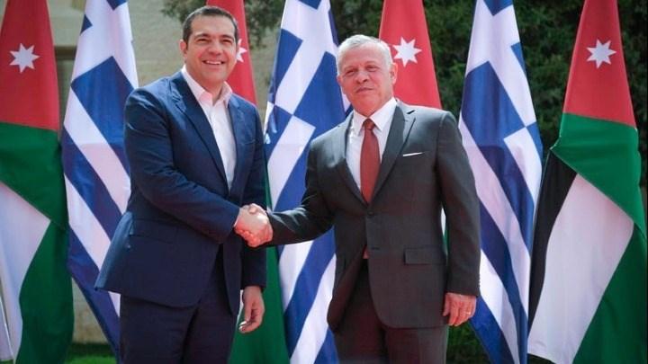 Στην Ιορδανία ο Τσίπρας: Συνεργασία Ελλάδας, Κύπρου και Ιορδανίας