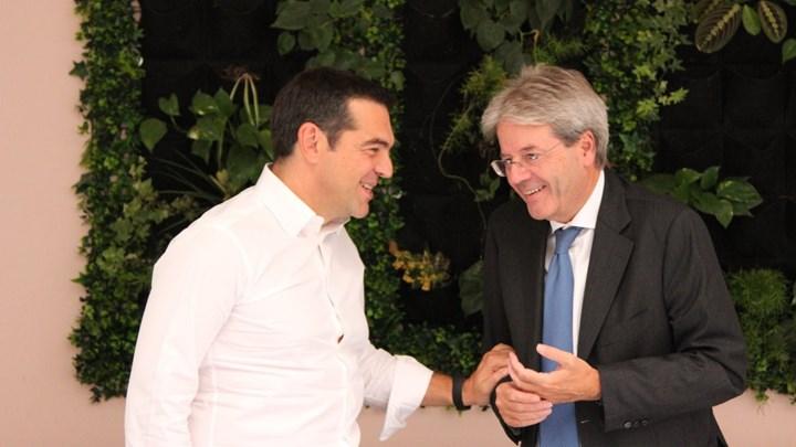 Συνάντηση Τσίπρα με αντιπροσωπεία του Δημοκρατικού Κόμματος Ιταλίας