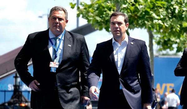 Στο πιο κρίσιμο σημείο οι σχέσεις Τσίπρα - Καμμένου