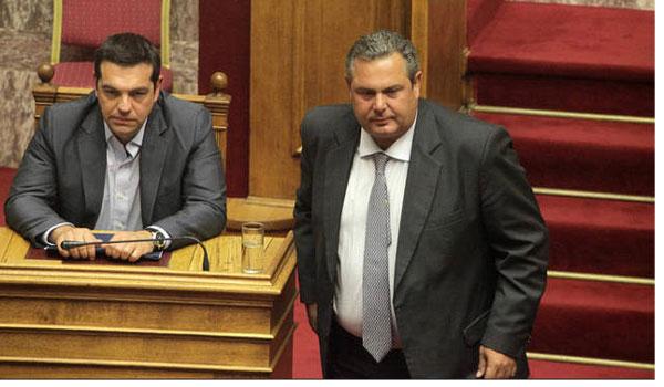 Τον Μάρτιο στην βουλή η συμφωνία των Πρεσπών. Η δύσκολη συγκατοίκηση με τον Πάνο Καμμένο