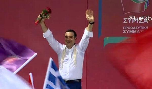 Τσίπρας:  Η Ελλάδα δεν θα γυρίσει πίσω στα σκοτεινά χρόνια του μνημονίου
