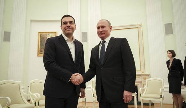 Πούτιν: Σας υποδέχομαι με ευχαρίστηση ξανά - Τσίπρας: Αναγκαία η σχέση των δύο χωρών