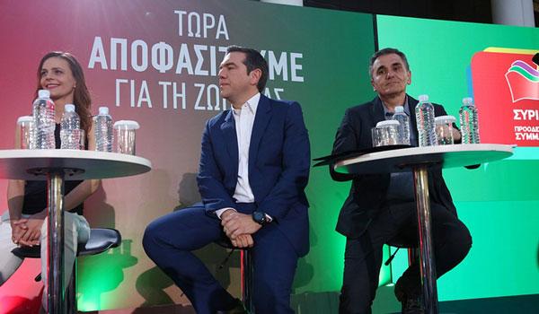 Τσίπρας: Είναι ένα πρόγραμμα που θα πρέπει να το εγκρίνει μόνο ο Ελληνικός λαός, και όχι η τρόικα