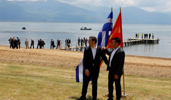 Η Αλβανία χαιρετίζει τη συμφωνία Αθήνας - Σκοπίων στις Πρέσπες