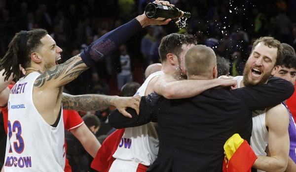 Euroleague: Στην κορυφή της Ευρώπης η ΤΣΣΚΑ του Ιτούδη!  Η απονομή και οι πανηγυρισμοί