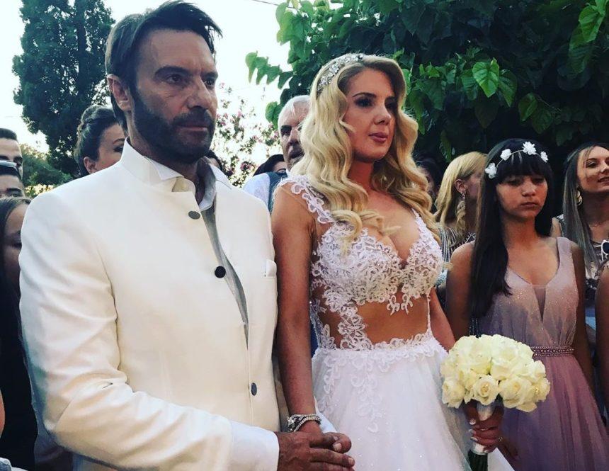 Γάμος Στράτος Τζώρτζογλου–Σοφία Μαριόλα: Τα πρώτα βίντεο από την τελετή στην Κρήτη