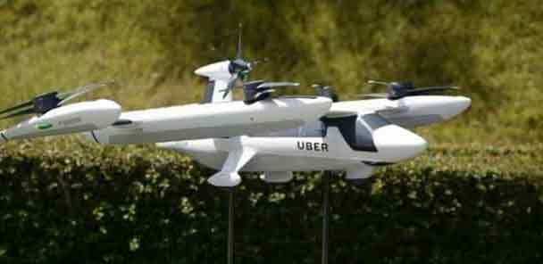 Ερχεται το ιπτάμενο ταξί από την Uber