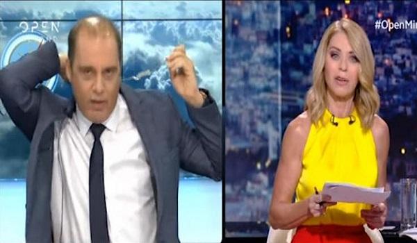 Άγρια κόντρα Βελόπουλου - Στάη on air: Αποχώρησε από την εκπομπή