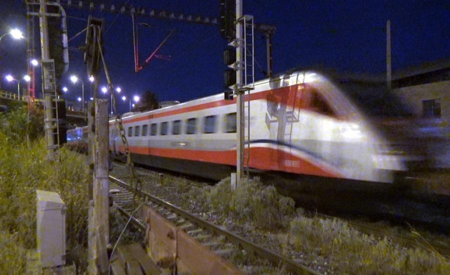 Έφτασε το τρένο - ασημένιο βέλος κάτω από άκρα μυστικότητα. Αθήνα – Θεσσαλονίκη σε 3,5 ώρες