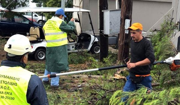 Τα νεότερα μέτρα της κυβέρνησης για την αποκατάσταση των ζημιών στη Χαλκιδική
