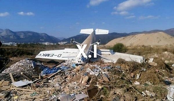 Πτώση αεροσκάφους στην Ξάνθη
