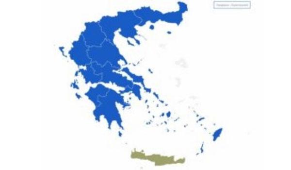 Πως άλλαξε ο χάρτης των ευρωεκλογών από το 2014 στο 2019