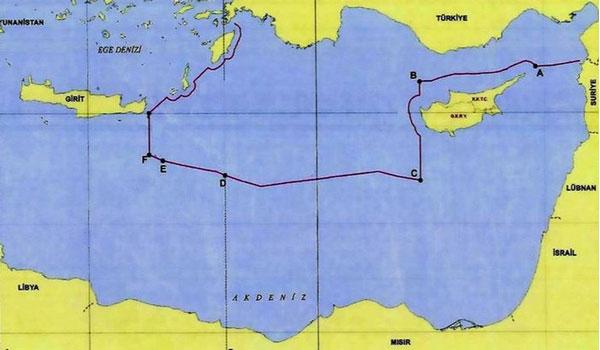 Αποκάλυψη: Αυτός είναι ο χάρτης της συμφωνίας Τουρκίας - Λιβύης