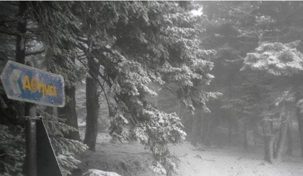 """Καιρός: Έρχεται νέα ψυχρή """"εισβολή"""" - Χιονοπτώσεις ακόμα και στην Αττική"""