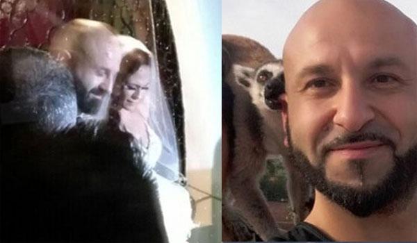 Παντρεύτηκε ο Υπάτιος Πατμάνογλου. Εικόνες από τον γάμου του