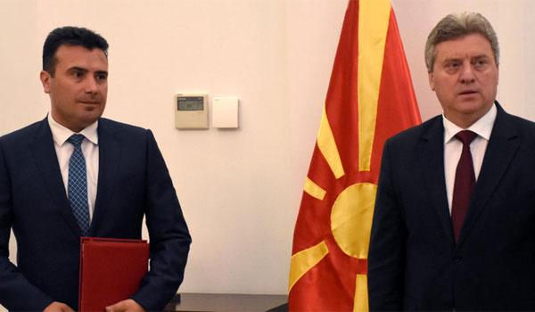 Πολιτική θύελλα στην ΠΓΔΜ: Επικύρωση της συμφωνίας αλλά δεν την υπογράφει ο Ιβάνοφ